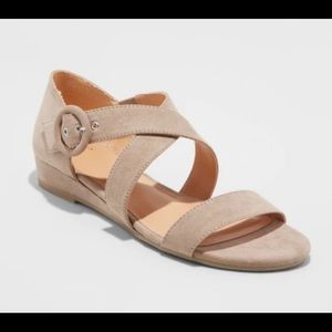 Women's Adonia Ankle Strap Sandals  by A New Day